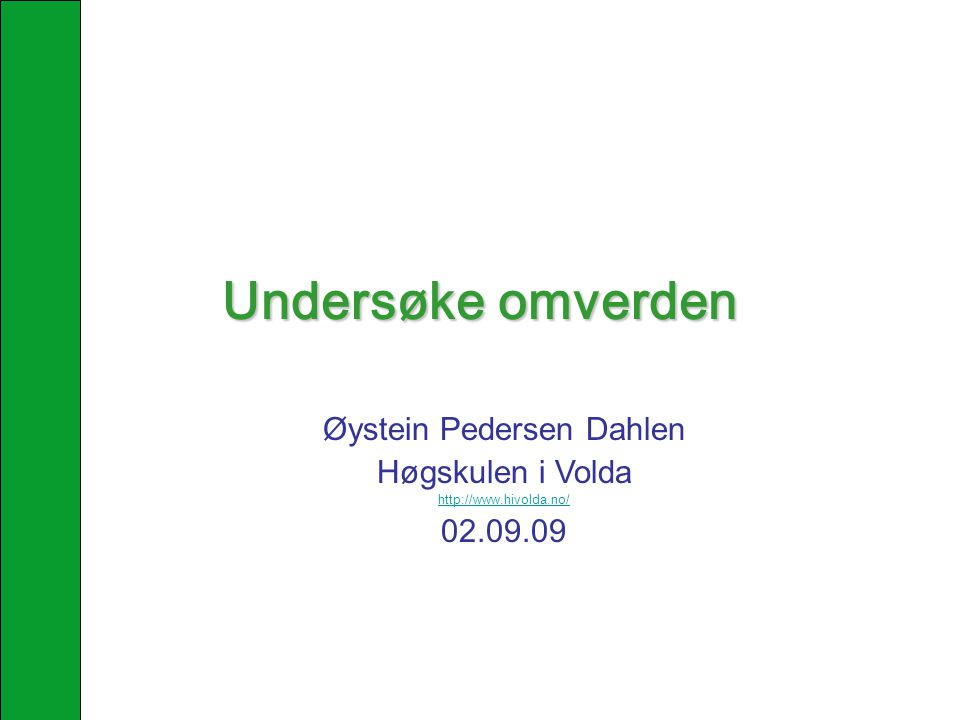 Øystein Pedersen Dahlen
