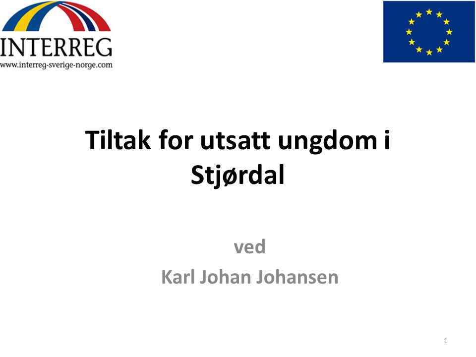 Tiltak for utsatt ungdom i Stjørdal