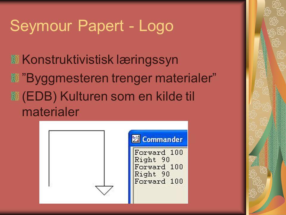 Seymour Papert - Logo Konstruktivistisk læringssyn