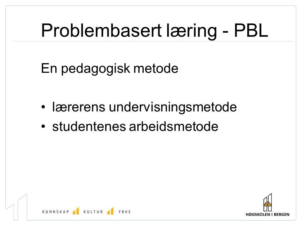 Problembasert læring - PBL