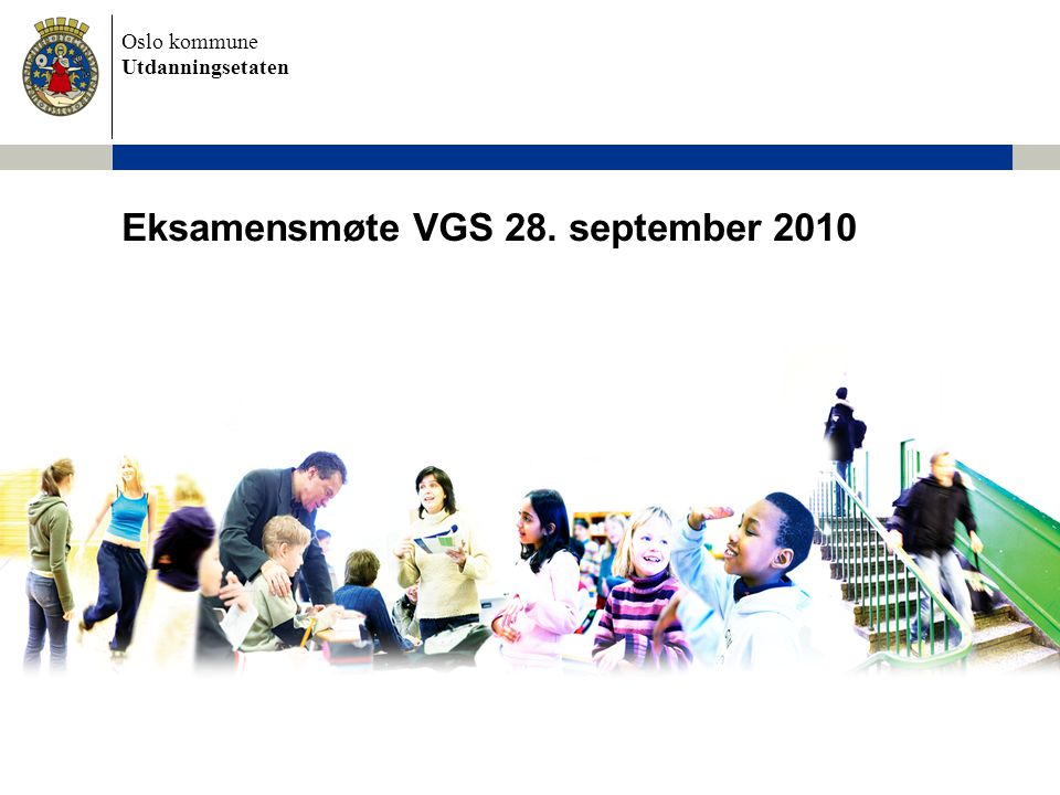 Eksamensmøte VGS 28. september 2010