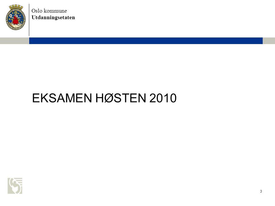 EKSAMEN HØSTEN 2010