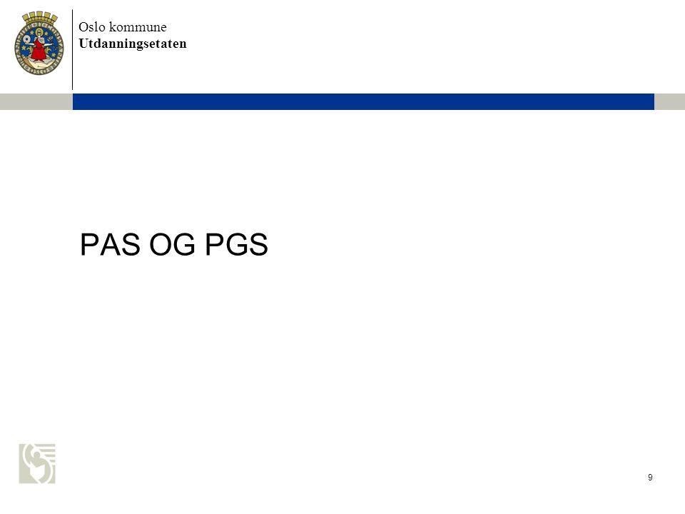 PAS OG PGS