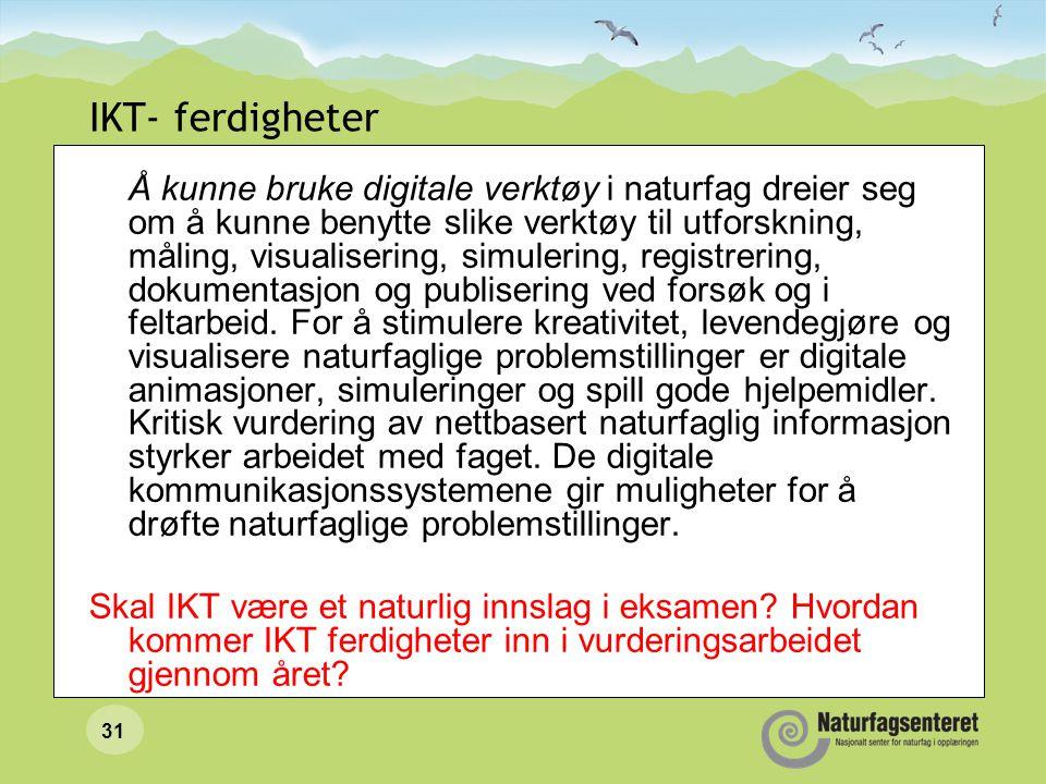 IKT- ferdigheter