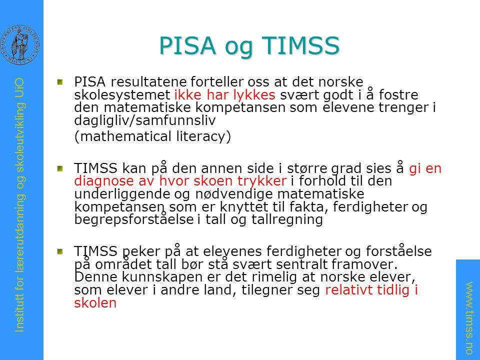 PISA og TIMSS