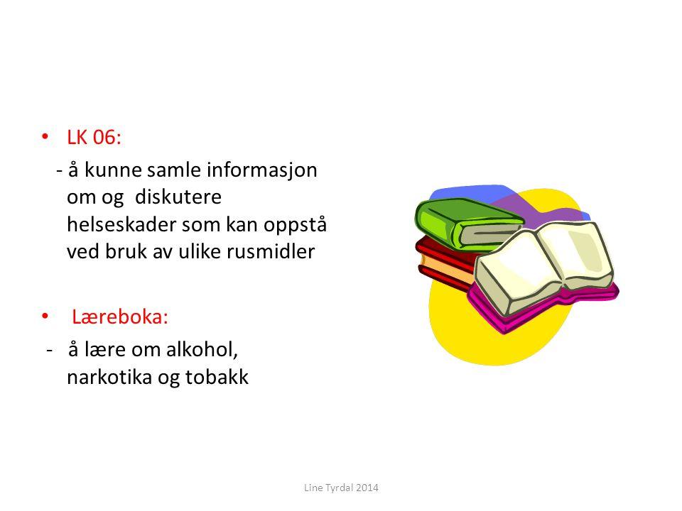 - å lære om alkohol, narkotika og tobakk
