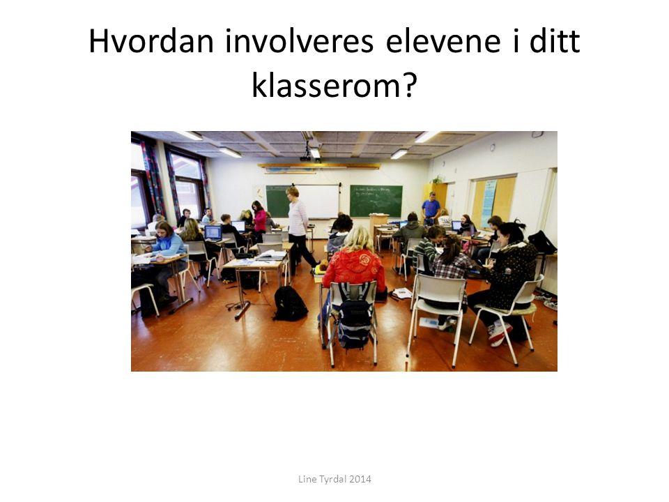 Hvordan involveres elevene i ditt klasserom