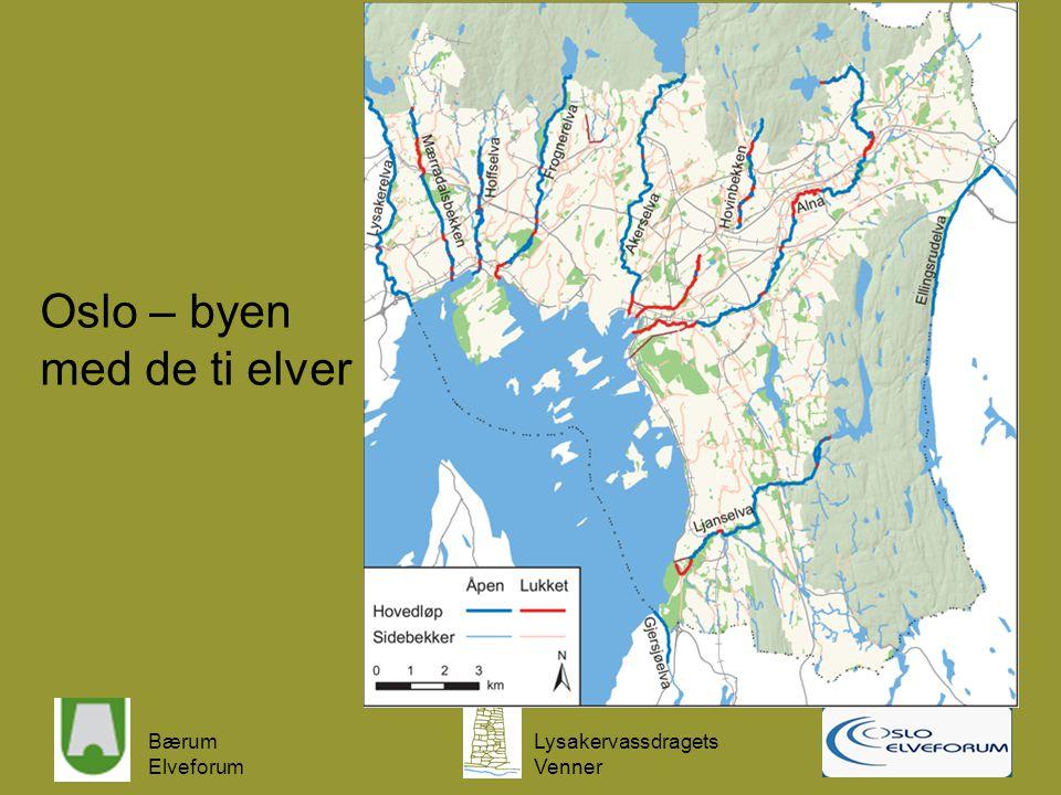Oslo – byen med de ti elver
