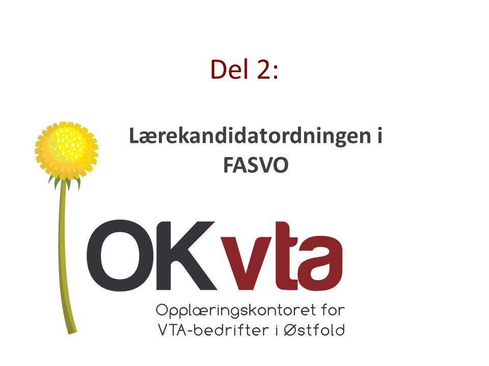 Lærekandidatordningen i FASVO