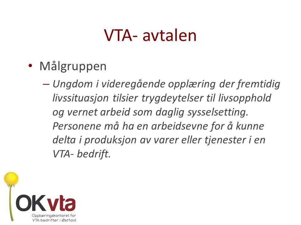 VTA- avtalen Målgruppen
