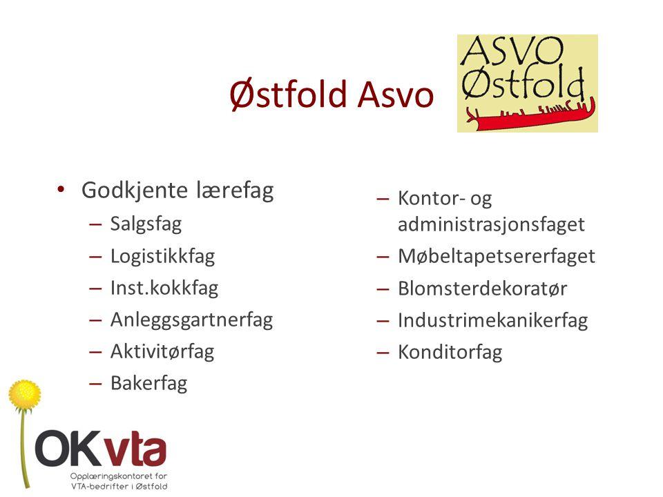 Østfold Asvo Godkjente lærefag Kontor- og administrasjonsfaget