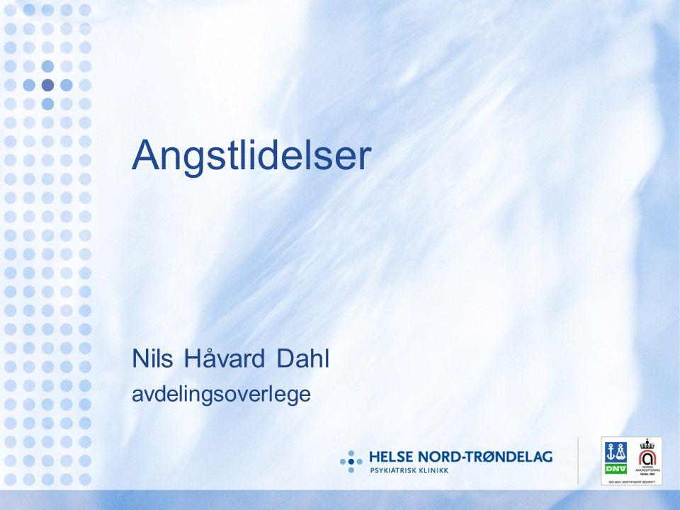 Nils Håvard Dahl avdelingsoverlege