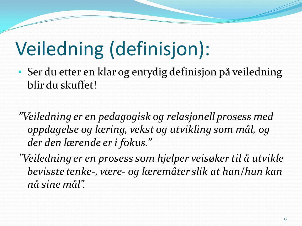 Veiledning (definisjon):