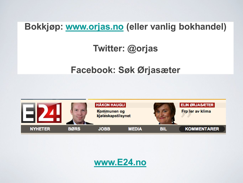 Bokkjøp: www.orjas.no (eller vanlig bokhandel) Facebook: Søk Ørjasæter