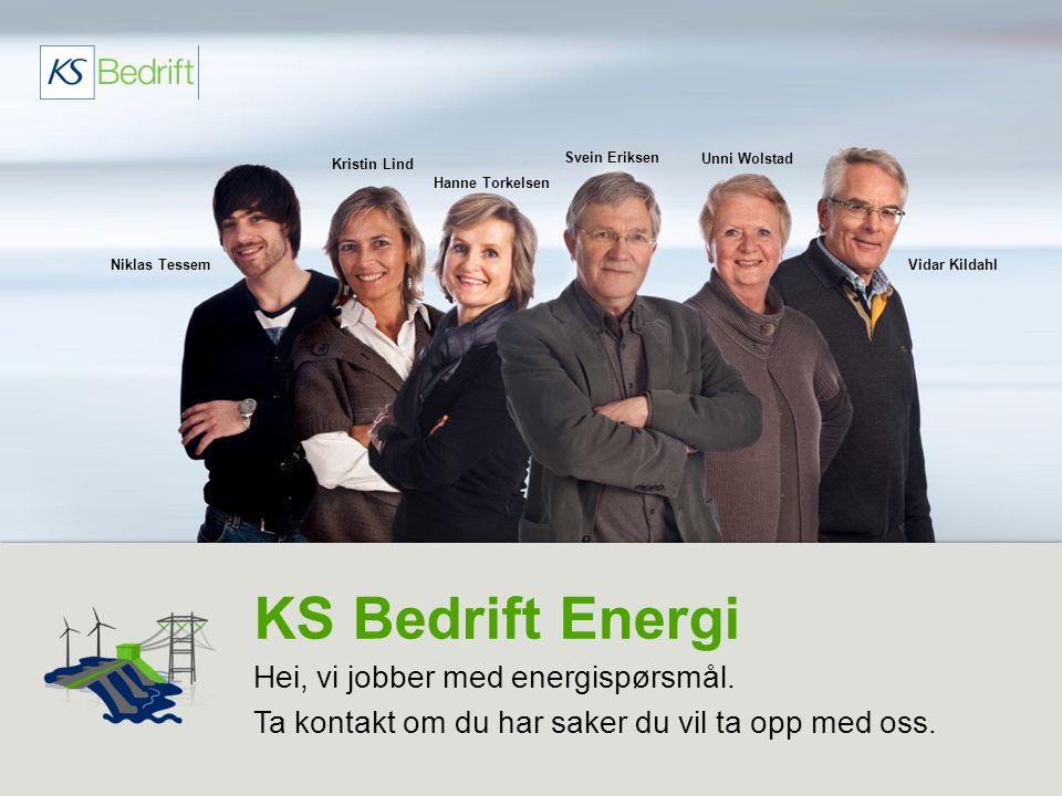 KS Bedrift Energi Hei, vi jobber med energispørsmål.