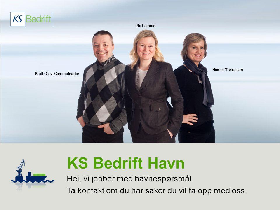 KS Bedrift Havn Hei, vi jobber med havnespørsmål.