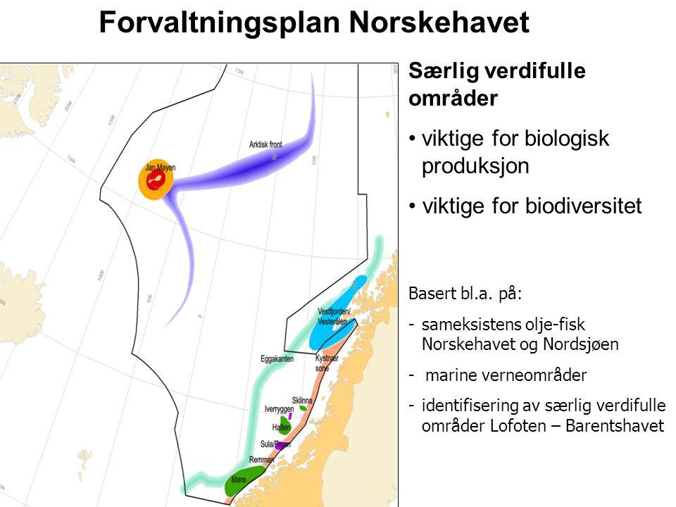 Forvaltningsplan Norskehavet