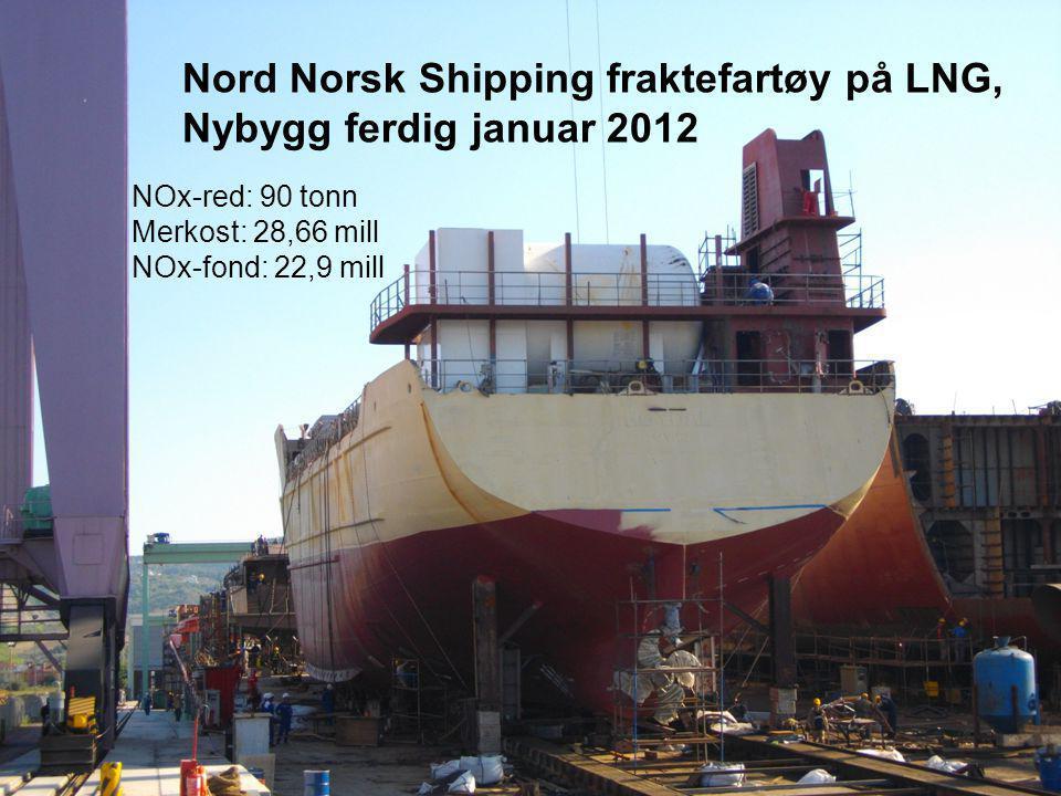 Nord Norsk Shipping fraktefartøy på LNG, Nybygg ferdig januar 2012