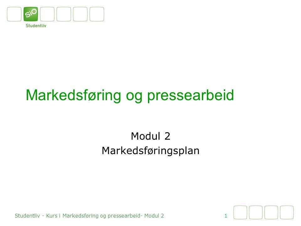 Markedsføring og pressearbeid