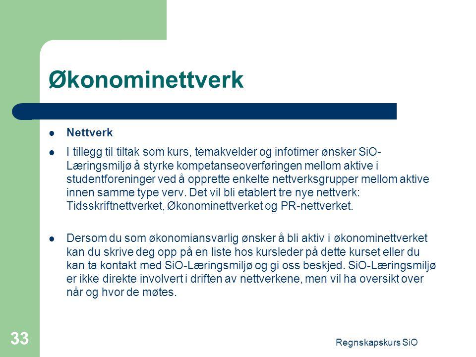 Økonominettverk Nettverk
