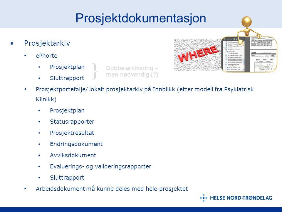 Prosjektdokumentasjon