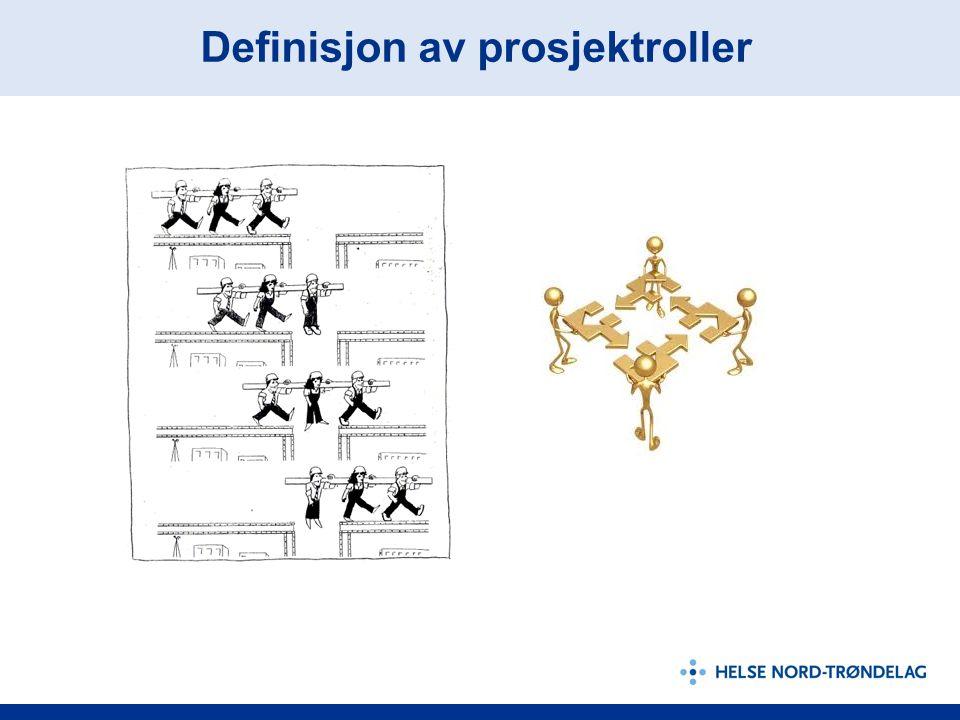 Definisjon av prosjektroller