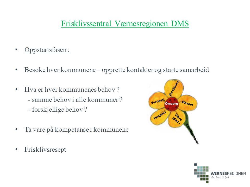 Frisklivssentral Værnesregionen DMS