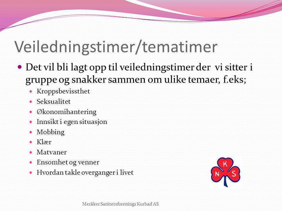 Veiledningstimer/tematimer