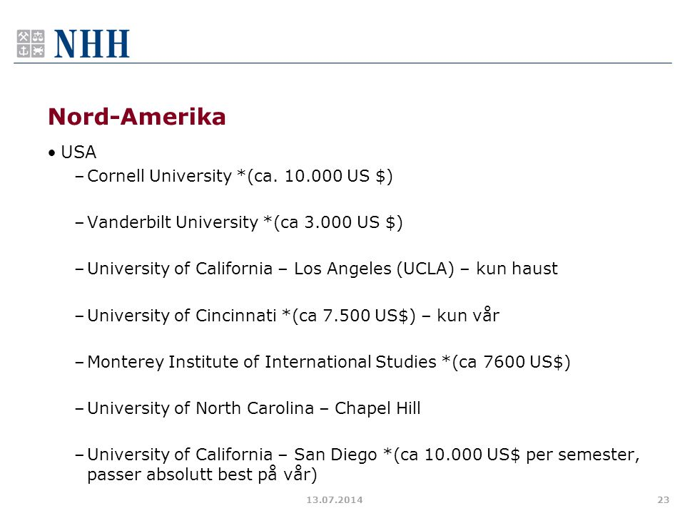 Nord-Amerika USA Cornell University *(ca. 10.000 US $)