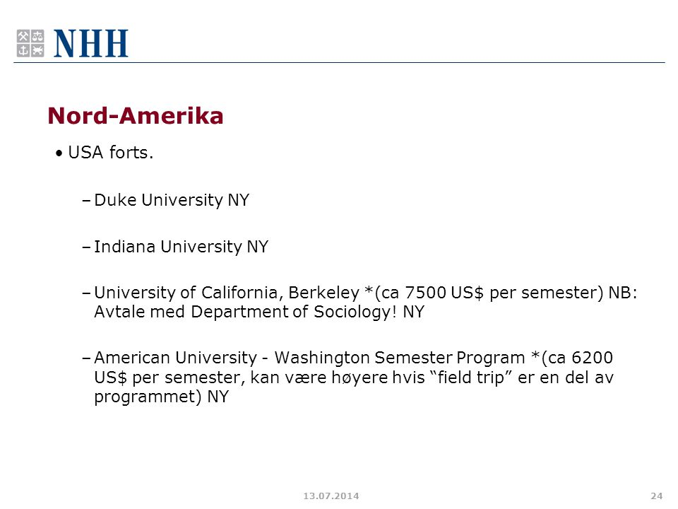 Nord-Amerika USA forts. Duke University NY Indiana University NY