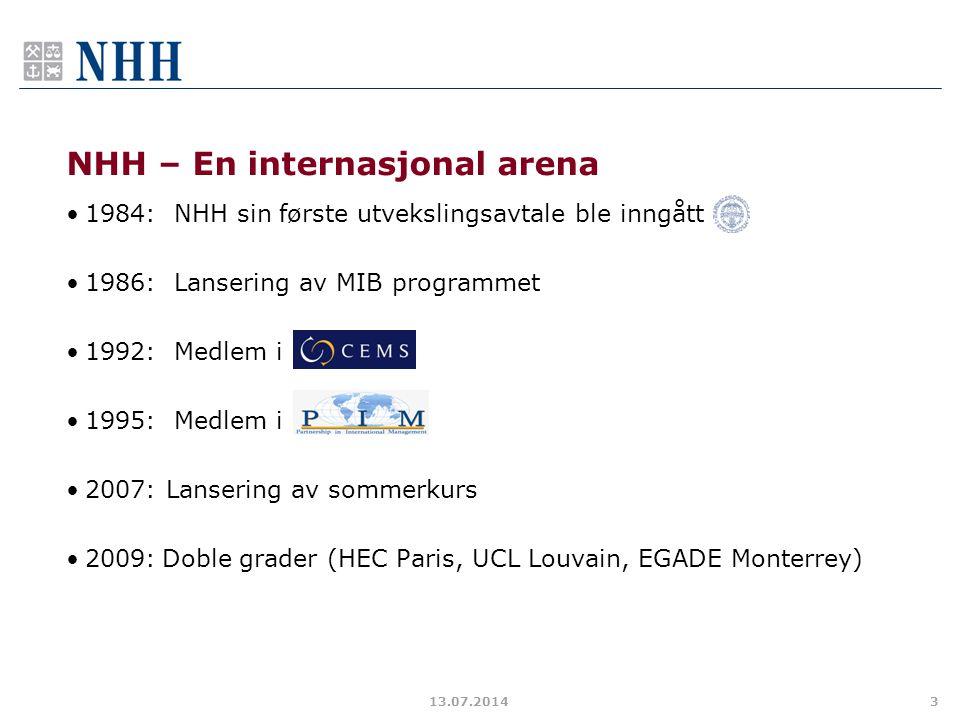 NHH – En internasjonal arena