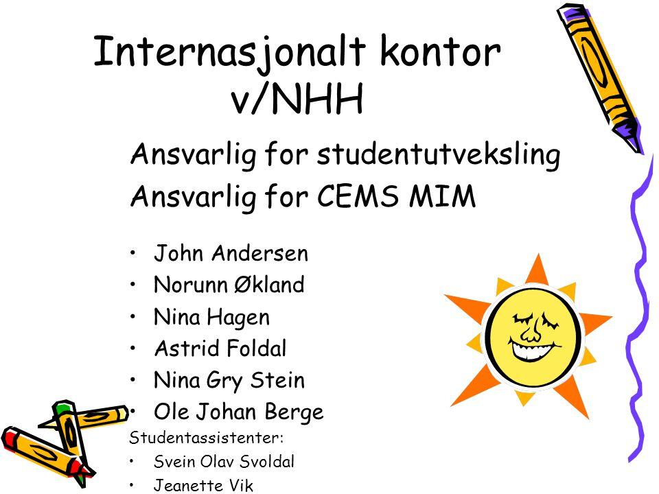 Internasjonalt kontor v/NHH