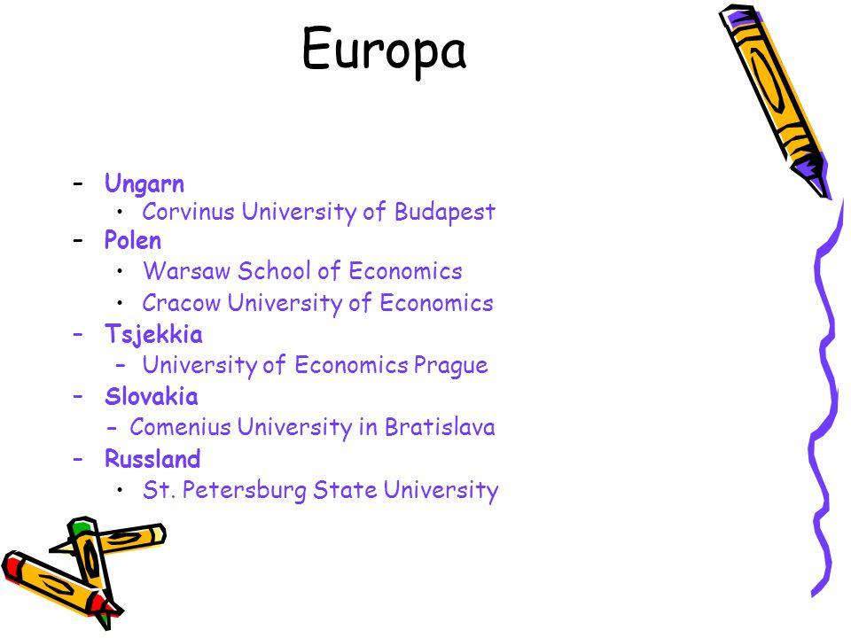 Europa Ungarn Corvinus University of Budapest Polen