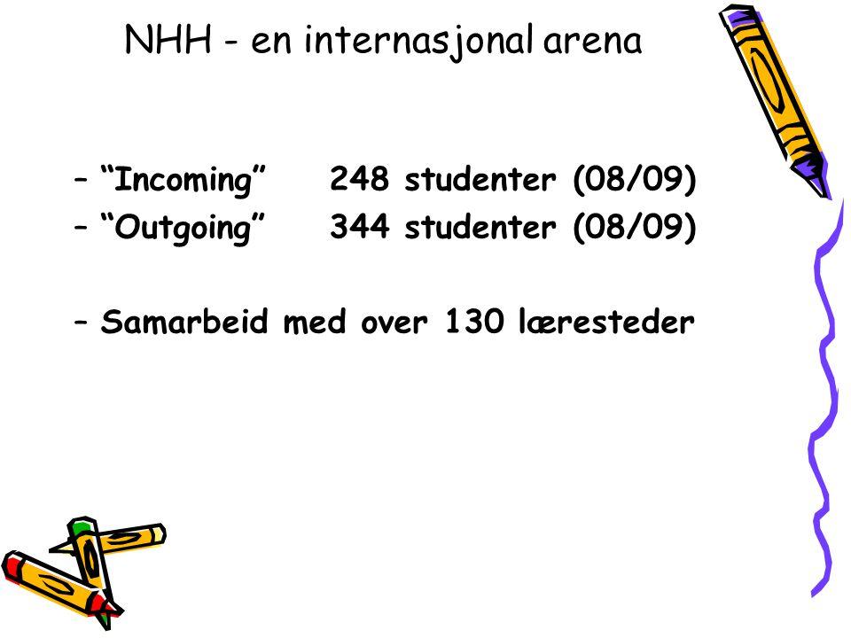NHH - en internasjonal arena