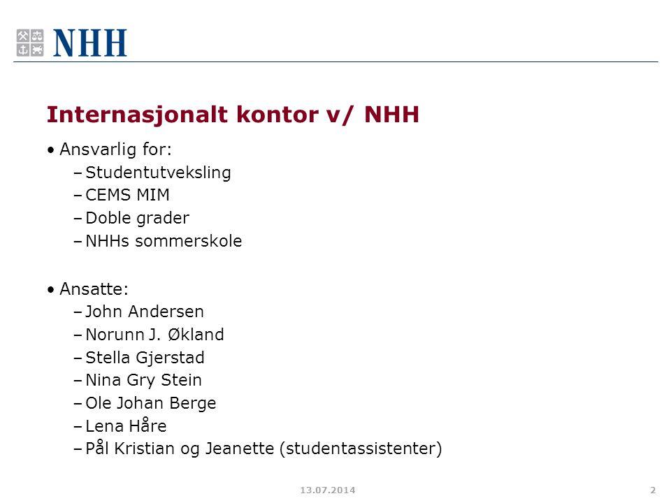 Internasjonalt kontor v/ NHH