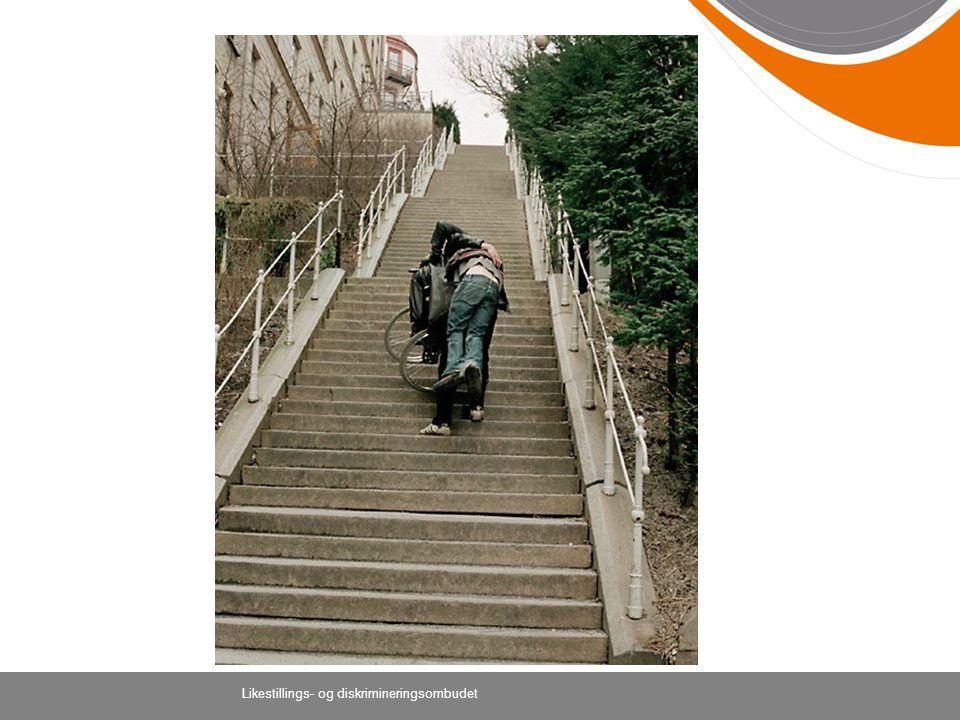 Denne trappen illustrerer hvordan det blir når personen blir problemet – og ikke samfunnet.