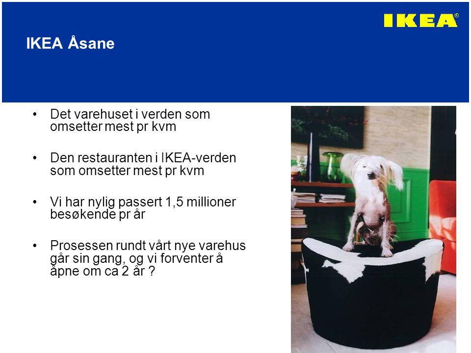IKEA Åsane Det varehuset i verden som omsetter mest pr kvm