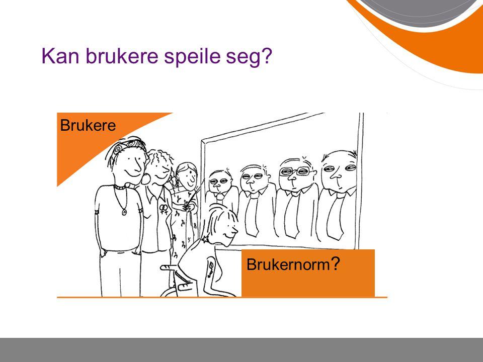 Kan brukere speile seg Brukere W Brukernorm