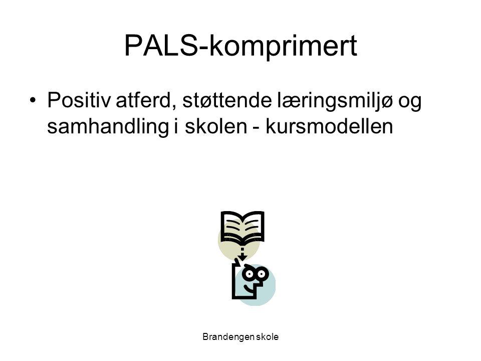 PALS-komprimert Positiv atferd, støttende læringsmiljø og samhandling i skolen - kursmodellen.