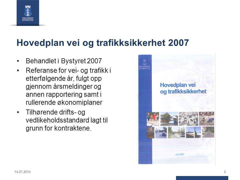 Hovedplan vei og trafikksikkerhet 2007