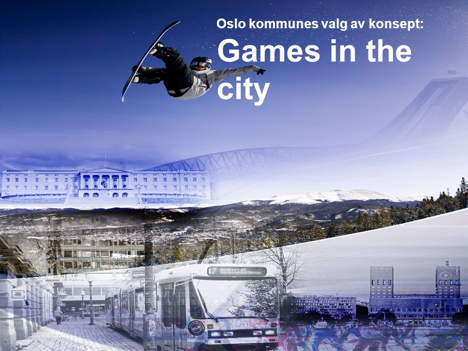 Oslo kommunes valg av konsept: Games in the city