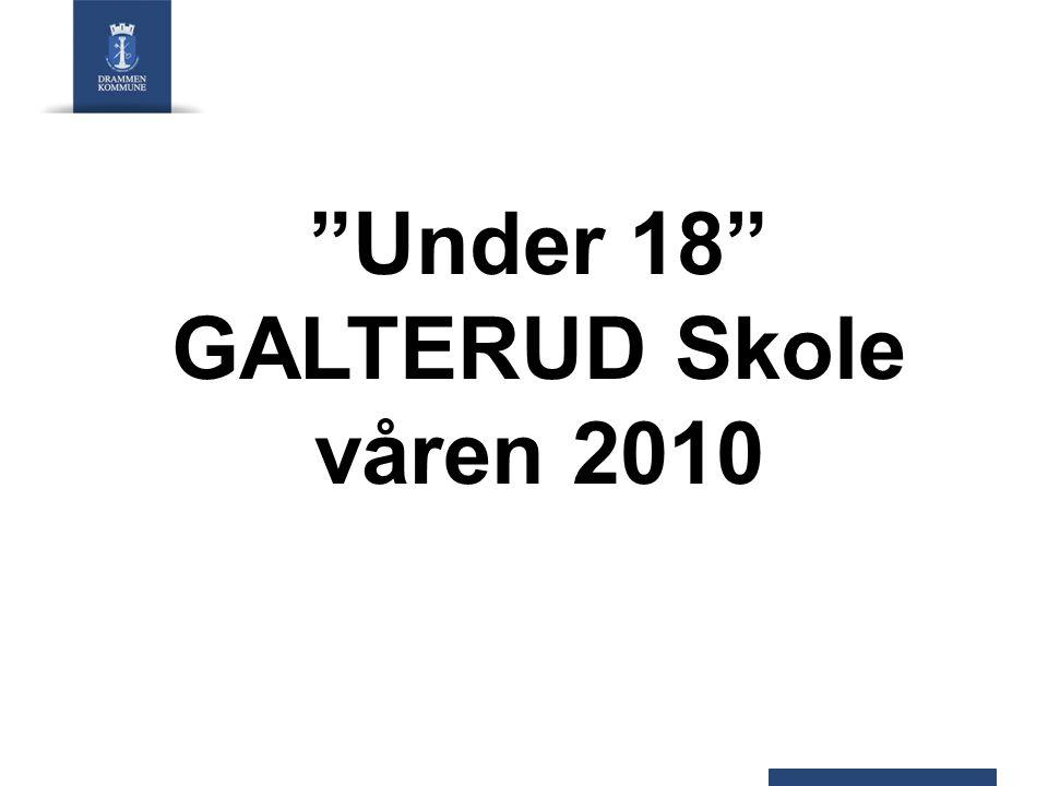 Under 18 GALTERUD Skole våren 2010