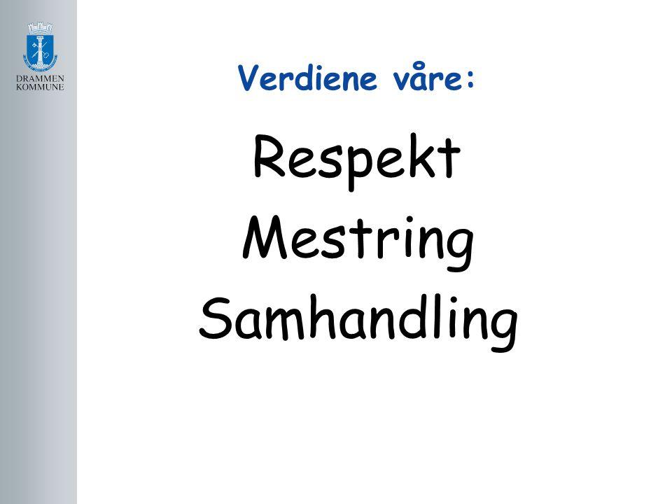 Respekt Mestring Samhandling