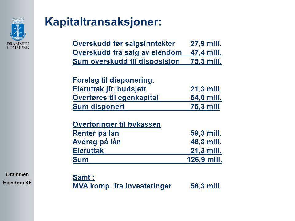 Kapitaltransaksjoner: