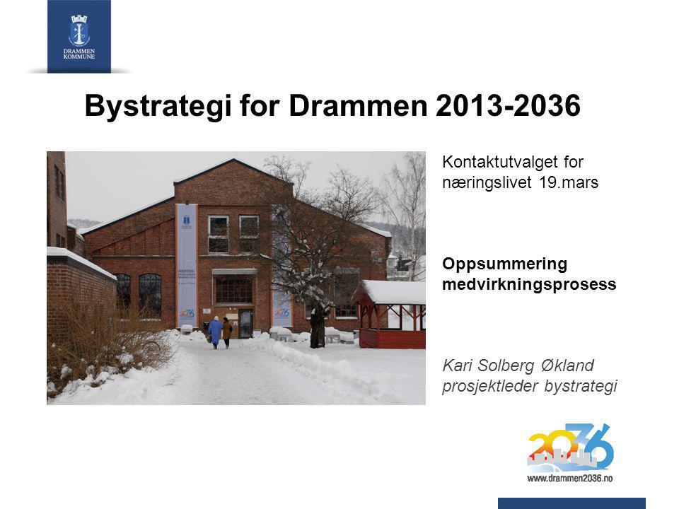 Bystrategi for Drammen 2013-2036