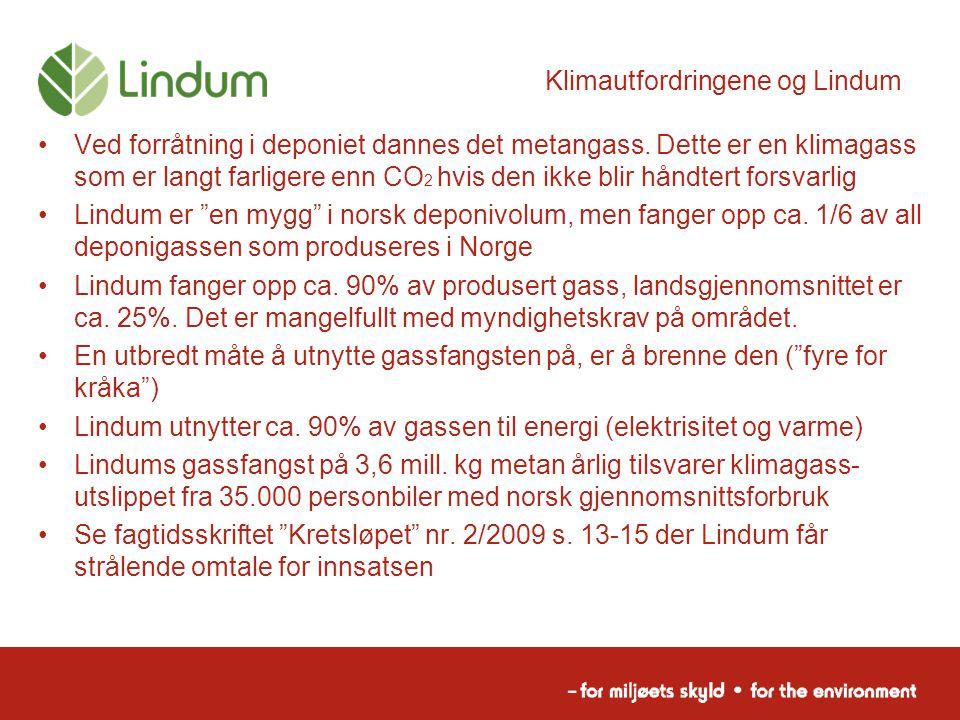 Klimautfordringene og Lindum