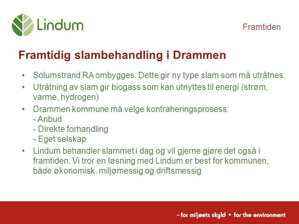 Framtidig slambehandling i Drammen