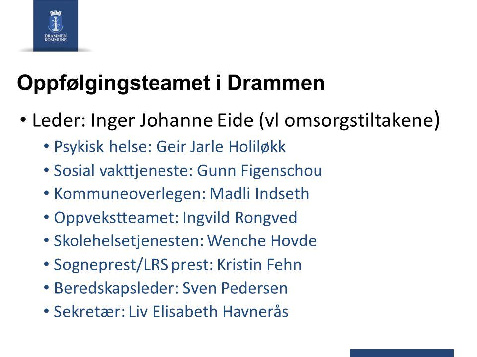 Oppfølgingsteamet i Drammen