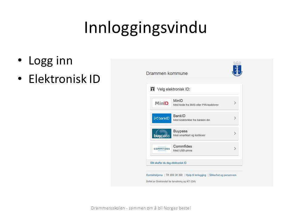 Drammensskolen - sammen om å bli Norges beste!
