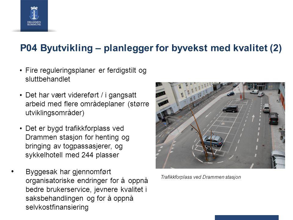 P04 Byutvikling – planlegger for byvekst med kvalitet (2)